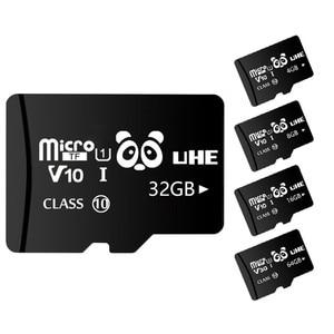Высокоскоростная черная флеш-карта памяти 32 Гб, карта памяти 4 ГБ 8 ГБ Micro SD Carte 16 Гб 64 Гб SDXC Class10 TF Microsd для смартфонов и планшетов