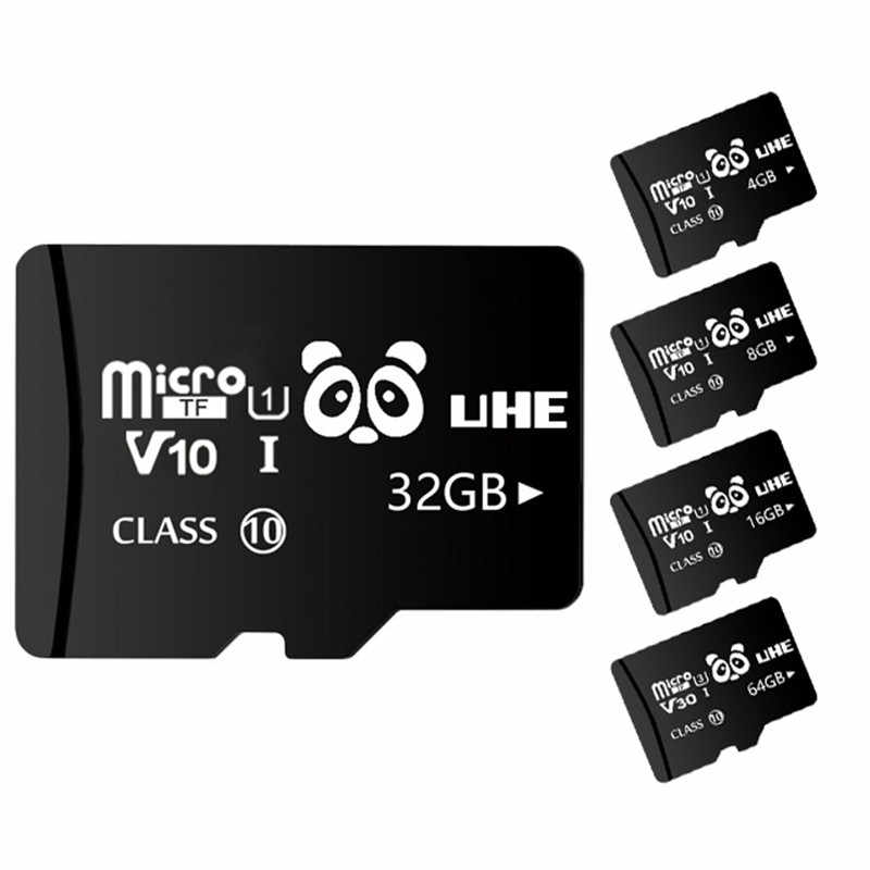 Высокоскоростная черная флеш-карта памяти 32G карта памяти 4G 8 GB Micro SD Carte 16 GB 64 GB SDXC класс 10 TF Microsd для смартфона планшета