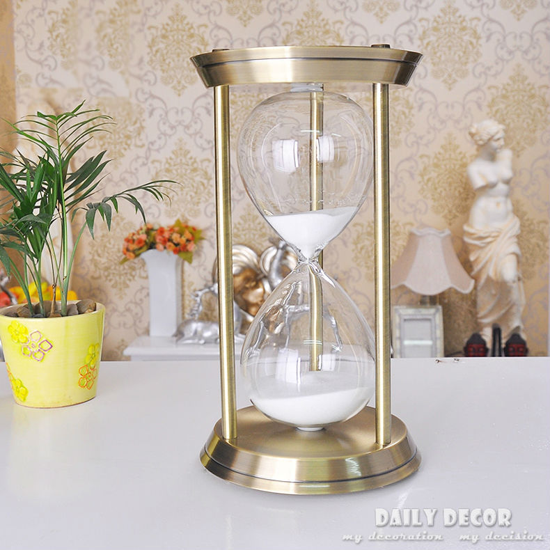 High Quality Metal 1 Hour Hourgl Sand Timer 60 Minutes Large El Reloj De Arena Sablier La Clessidra Sanduhr In Hourgles From Home