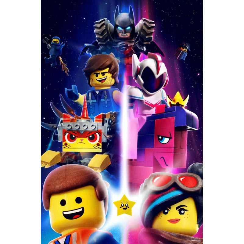 Hot The Lego Movie Home Decor Retro Classic Vintage Movie Poster Print more size Custom Silk Poster and prints