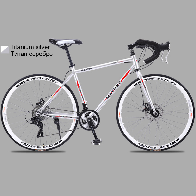 HTB1tOQJa8v0gK0jSZKbq6zK2FXaL 700c aluminum alloy road bike 21 27and30speed road bicycle Two-disc sand road bike Ultra-light bicycle