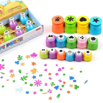 Hole Punch Set Scrapbook Paper Punch Craft Paper Puncher Kids DIY Craft Paper Punch 4 patterns extra large butterfly paper punch scrapbooking paper creative craft hole punch embossing