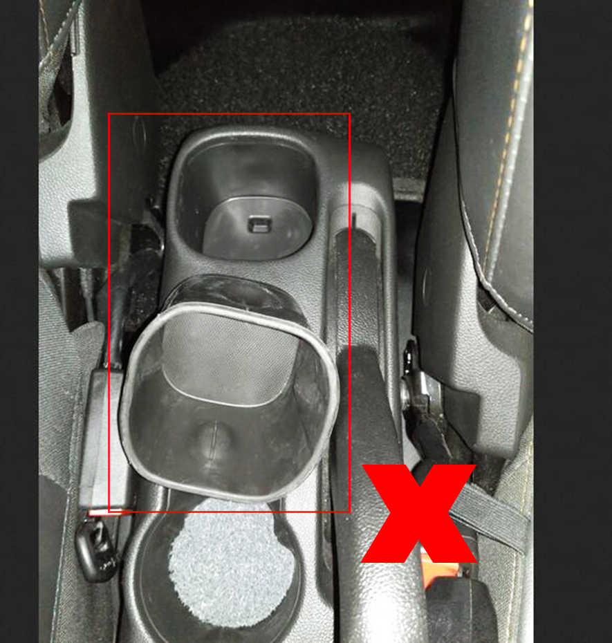 Xukey Merkezi Kol Dayama Chevrolet Trax Tracker Için 2013-2017 Kontrol Merkezİ Siyah Depolama Araba Styling Kutusu Küllük 2015