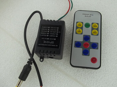 Free Shipping <font><b>12V</b></font> WS2812B <font><b>WS2811</b></font> RGB Controller For <font><b>LED</b></font> Strip Light <font><b>Module</b></font> & 14-Key Remote 2048 <font><b>Pixel</b></font> image