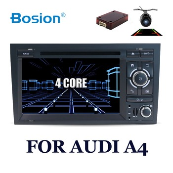 Bosion 32GROM 1024*600 Quad Core Android 10.0 Car DVD Player for Audi A4 2002-2007 S4 RS4 8E 8F B9 B7 RNS-E (DTV DAB+ Optional)