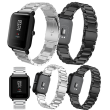 Metal Stainless Steel Strap for Xiaomi Huami AMAZFIT Bip 20MM Bracelet Amazfit Youth Smart Watch