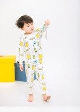 Купить с кэшбэком Kids pajamas children sleepwear baby pajamas sets boys girls animal pyjamas cotton nightwear cartoon   Home clothes sleepwear