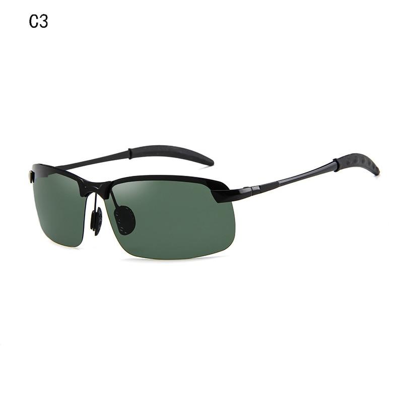 2019 Vintage Sunglasses Men Polarized Retro Anti Glare Men Sun Glasses For Driving Half Frame Eyewear Back To Search Resultsapparel Accessories Women's Glasses