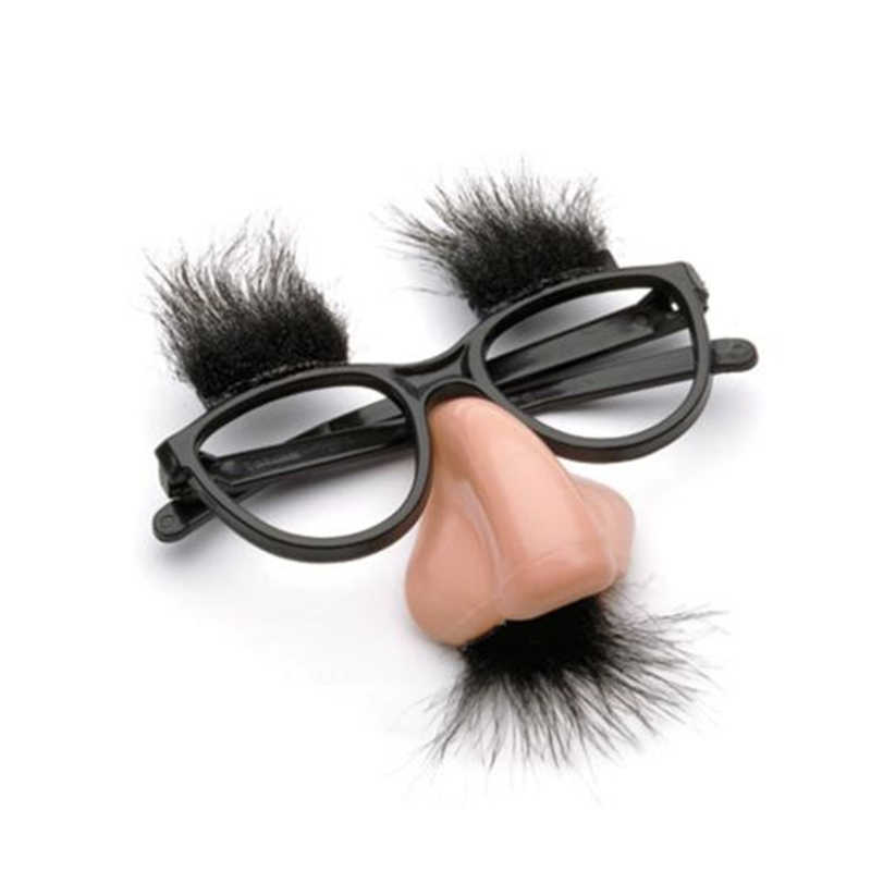 1pc Moustache Glasses Halloween Party Fancy Funny Dress Big Nose Cosplay Disguise Halloween Party Decoration Supplies New 2018