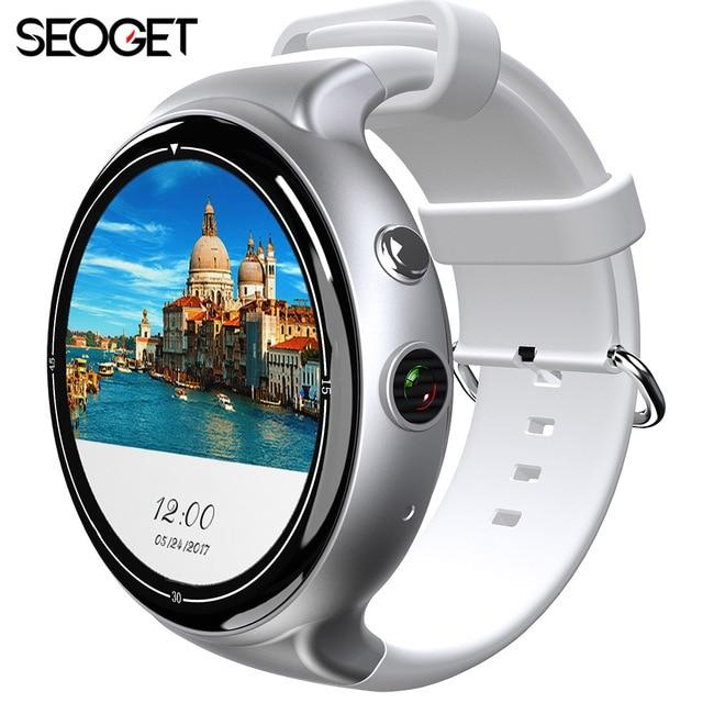 ОС Android 5.1 Процессор MTK6580 2/16 ГБ Smart Watch 2.0 MP Камера Bluetooth смартфон часы GPS Wi-Fi 3 г Nano Sim карты SmartWatch