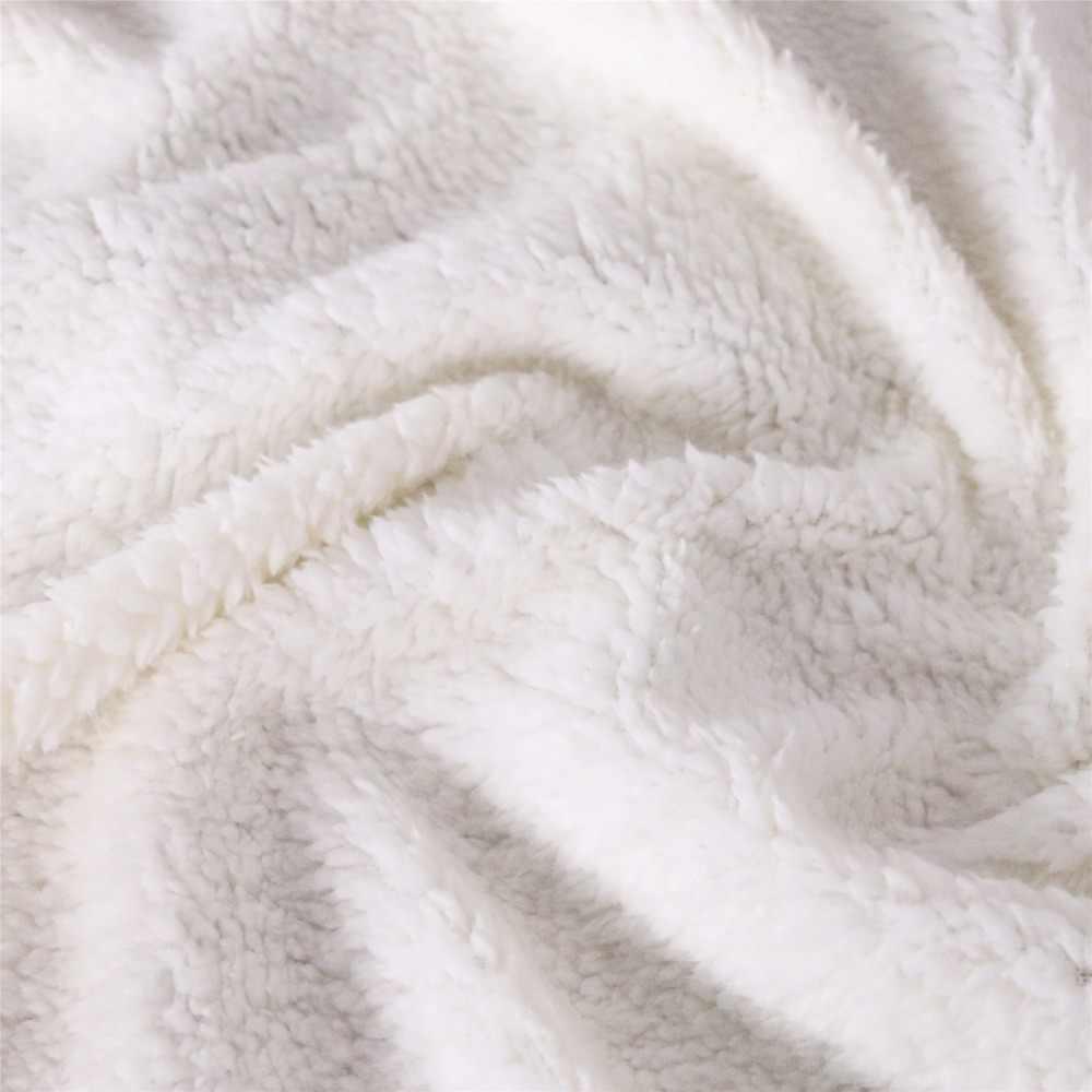 Cojín de sofá de Yoga estera de Picnic volver a la manta de la escuela gruesa de doble capa de felpa vengadores Endgame iron Man impresión 3d manta