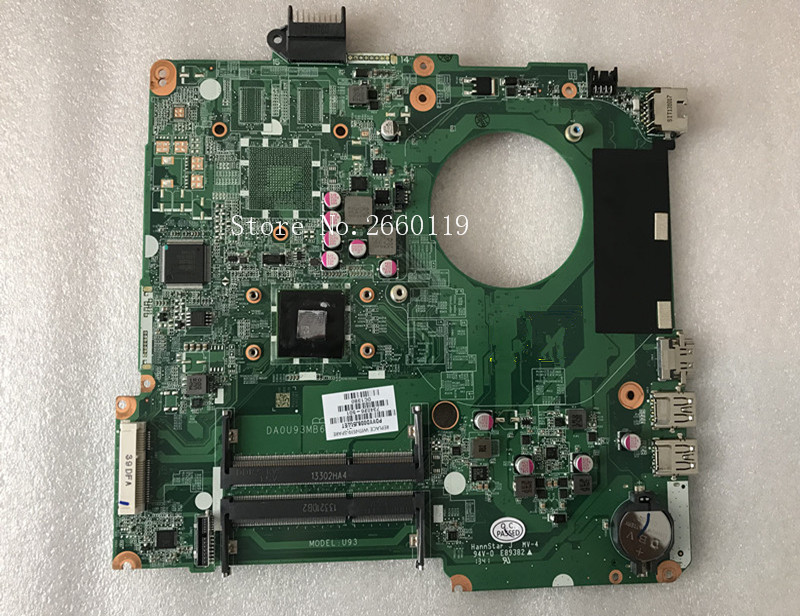 Laptop motherboard for 15 15Z 15-N 734826-501 601 734826-001 DA0U93MB6D0 A4-5000,Fully tested 734820 501 734820 001 free shipping for hp pavolion 15 n 15z n laptop motherboard da0u93mb6d0 8670m 1g a4 5000 cpu