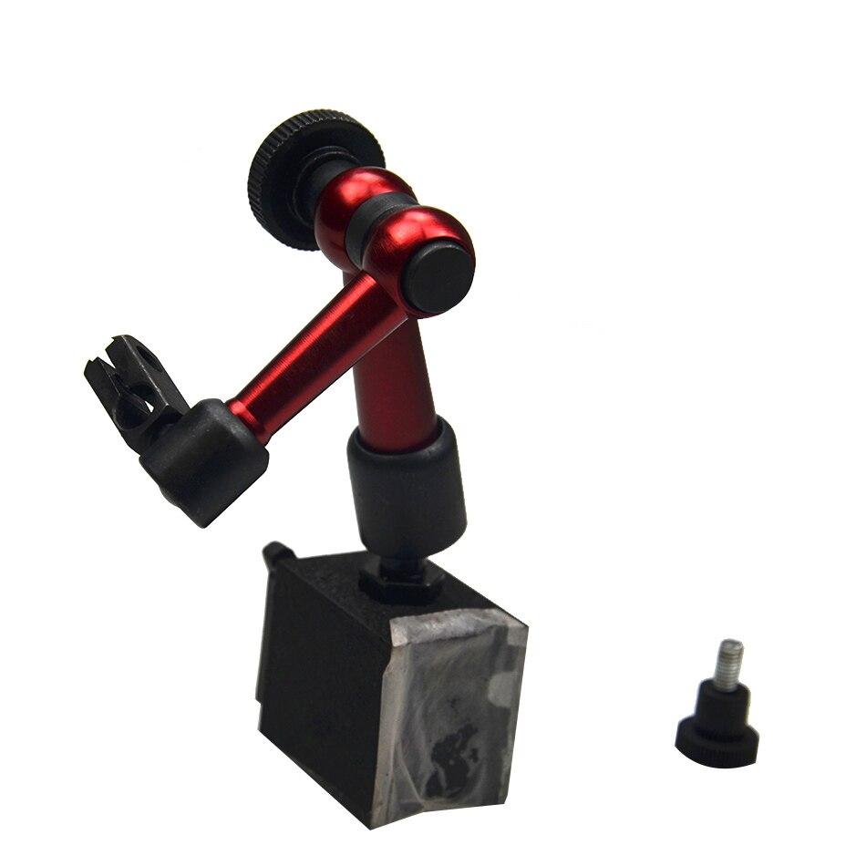 Плечо Наберите указателю держатель Micro Магнитный стенд 220 мм Универсальный стрелочный индикатор On/Off магнитное основание стенд провести