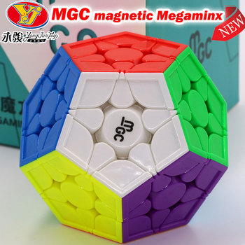 Puzzle Magic Cube MGC Magnetic Megamin-x speed Puzzle Professional 12 axes Dodecahedron WCA Championship competition Cube image