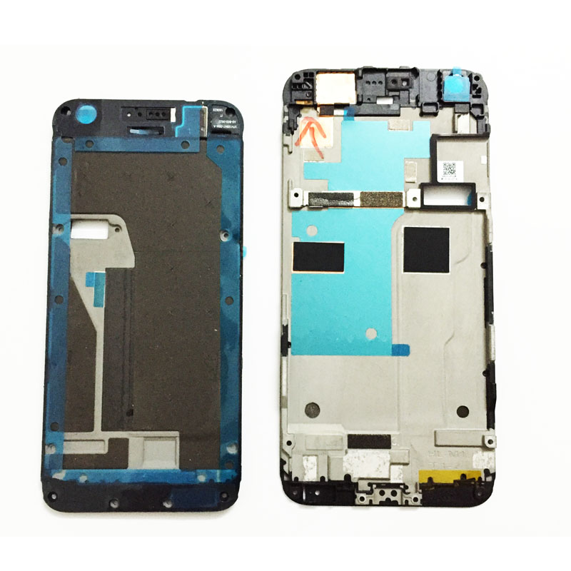 """Original New LCD Holder Screen Front Frame For HTC Google Pixel 5.0""""/ Pixel XL 5.5"""" Front Housing Case Replacement Parts"""
