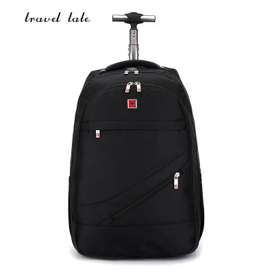 travel tale 18 inch fashion men/woman business oxford Rolling Luggage zipper backpack waterproof trolley bag travel bags