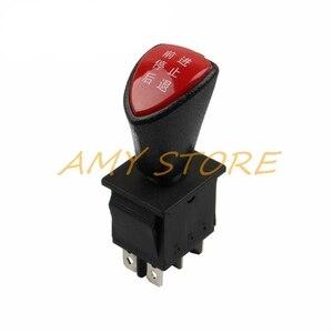 Image 3 - Forward stop הפוך חזרה DPDT 6Pin נעילה שקופיות נדנדה מתג AC 250V 16A AC 125V 20A שחור KCD4 604 6P 31x25mm מרחוק