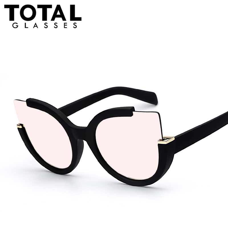 Totalglasses round shade summer fashion sunglasses women vintage brand designer glasses for ladies gafas retro oculos