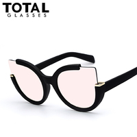 Totalglasses round shade summer fashion sunglasses women vintage brand designer glasses for ladies gafas retro oculos.jpg 200x200