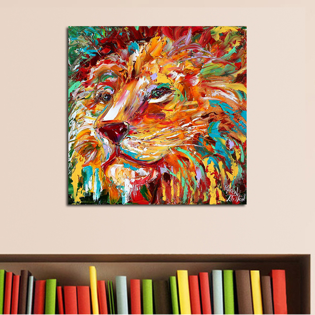QCART The Lion King Painting Wall Art Home Decor Modern Canvas Print No  Frame For Living