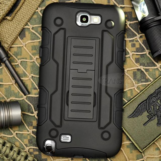save off e579c f42e5 Aliexpress.com : Buy KJ,Note2 Phone case Armor Impact Holster Shockproof  Hybrid Hard Case For Samsung Galaxy Note 2 N7100 Phone Back Cover Belt Clip  ...