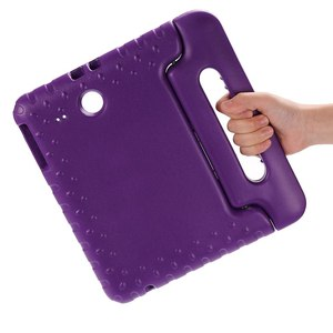 Image 5 - Case for Samsung Galaxy Tab E 9.6 T560 T561 hand held full body Kids Children Safe Silicone for SM T560 tablet cover