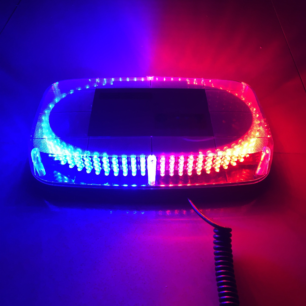 DC12V 240 LED Red Yellow Blue car Vehicle Police Warning light Magnetic Mounted Flashing Strobe Emergency Light Beacon Lamp