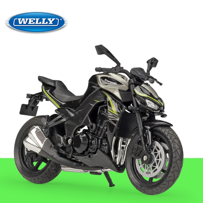 1:18 Welly Kawasaki Z 1000 R 2017 Diecast Motorcycle