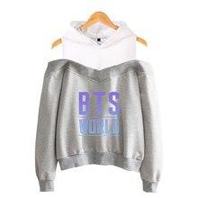BTS World Tour Off-Shoulder Hoodie [8 colors]
