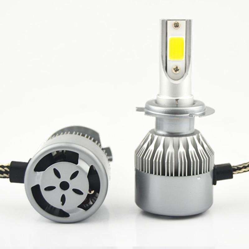 LED COB avtomatik fara farası duman farası Dönüşüm dəsti 6000K - Avtomobil işıqları - Fotoqrafiya 4