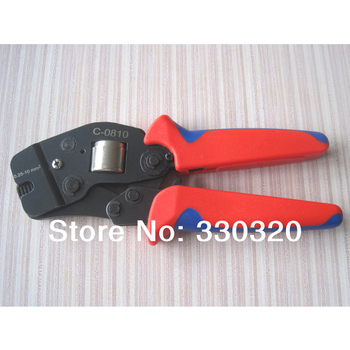 Self Adjusting Ratcheting Ferrule Crimper tool 0.25-10mm2 C-0810