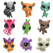 Lps Toys Littlest Pet Shop Have A Beautiful Gift Bag 6 Pcs/bag Random Shops Little Action kids Lps Dog Figure Little Animal