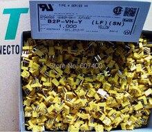B2P-VH-Y Cabeçalho cor amarela B2P-VH-Y Conectores terminais de caixas 100% de peças novas e Originais (LF) (SN)