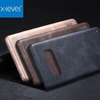 X Level Original Ultra Thin Slim Case For Samsung Galaxy Note 8 N950F Luxury Vintage PU