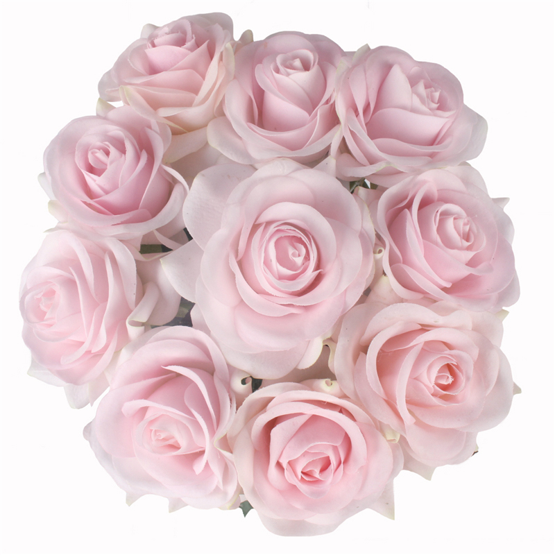 JAROWN Artificial Real Touch Hand Feel Rose Flowers For Valentine`s Day Preparation Wedding Decoration Home Decor (30)