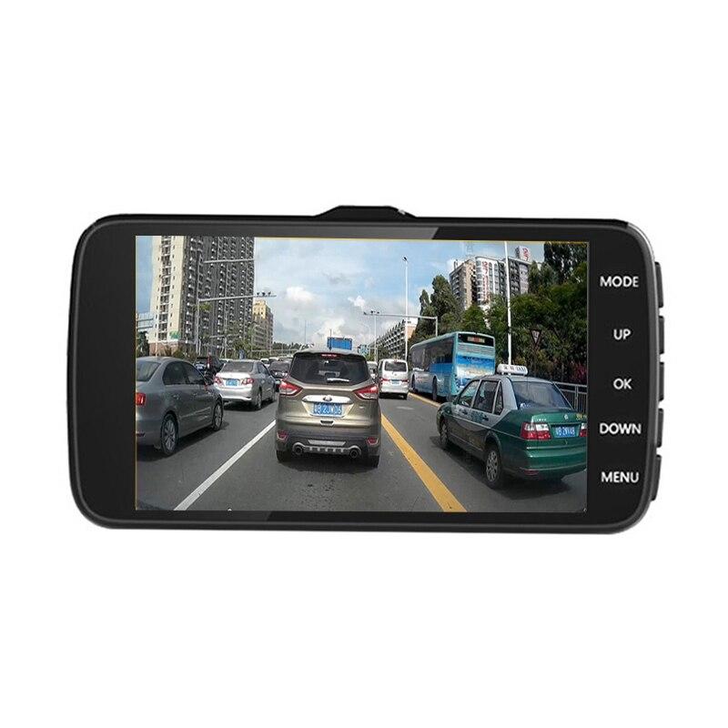 Winkcron 4.0 inch IPS Dual Lens Car Rear view DVR Camera DVR Video Recorder FHD1080P Car Dash Cam with ADAS System Night Vision