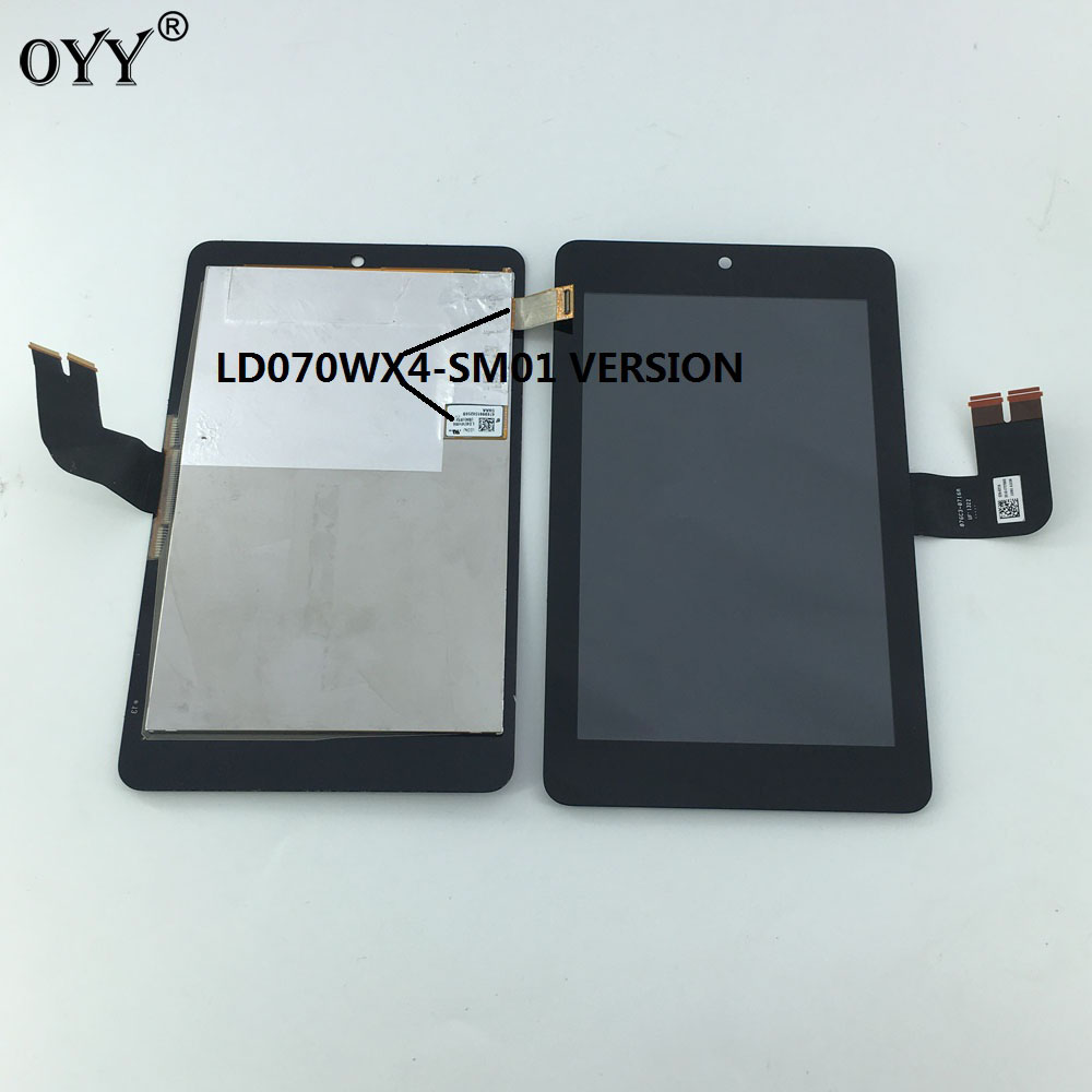 LCD Display Panel Screen Monitor Touch Screen Digitizer Glass Assembly For Asus MemoPad HD7 ME173 ME173X K00B LD070WX4(SM)(01) lcd display screen panel monitor touch screen digitizer glass for asus google nexus 7 1st gen nexus7 2012 me370 me370t me370tg