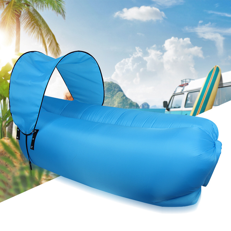 Modern Home furniture air gas folding sofa lazy sofa outdoor beach and swimming pool cover the sun inflatable lazy sofa bed norent brand waterproof inflatable mattress camping beach picnic air sofa outdoor swimming pool lazy bed folding portable chair