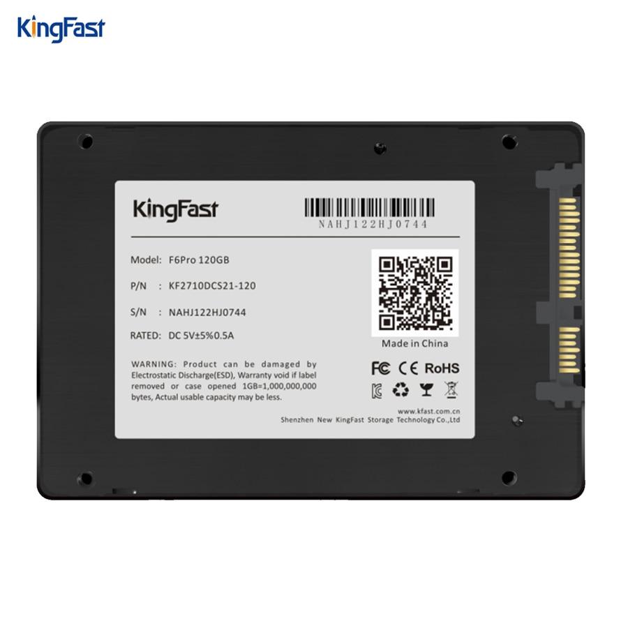 Kingfast ultrathin metal 2.5 SATA III SSD hard disk internal 120GB 240GB 480GB 1TB with cache SATA3 6Gbps for laptop&desktop