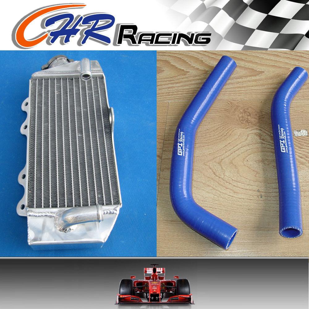Silicone Radiator Hose Kit Clamps For YAMAHA YZ85 YZ 85 1996-2008 98 99 Blue