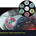Colorful Waterproof Motorcycle Clocks Watch Motorbike Mount Clock Watch Moto Digital Clock Suit ATV Motocross Offroad All Moto