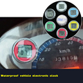 Colorido impermeable de la motocicleta relojes reloj reloj reloj reloj digital de traje de moto moto montaje atv motocross offroad todo moto