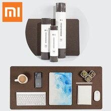 Новый XIAOMI большой толстый коврик для компьютерной мыши водонепроницаемый стол подставка для ноутбука материал из дуба сопротивление масла коврик для мыши для офиса игр