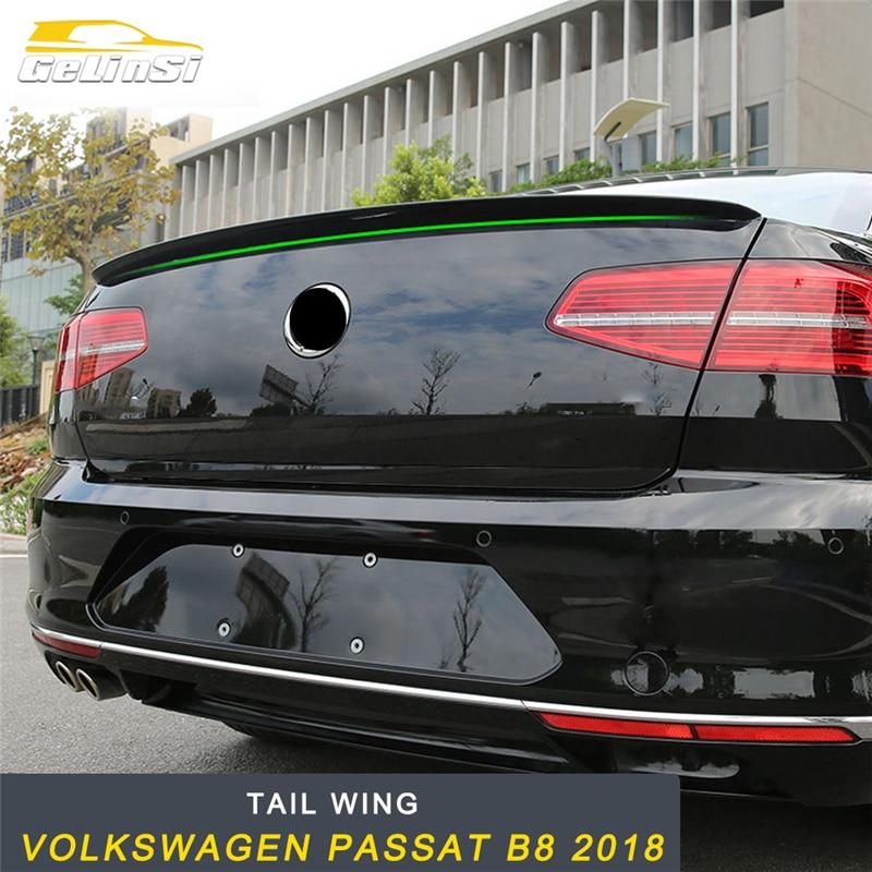 GELINSI задний багажник спойлер задний Багажник крыло отделка внешние аксессуары для Volkswagen Passat B8 2018 стайлинга автомобилей
