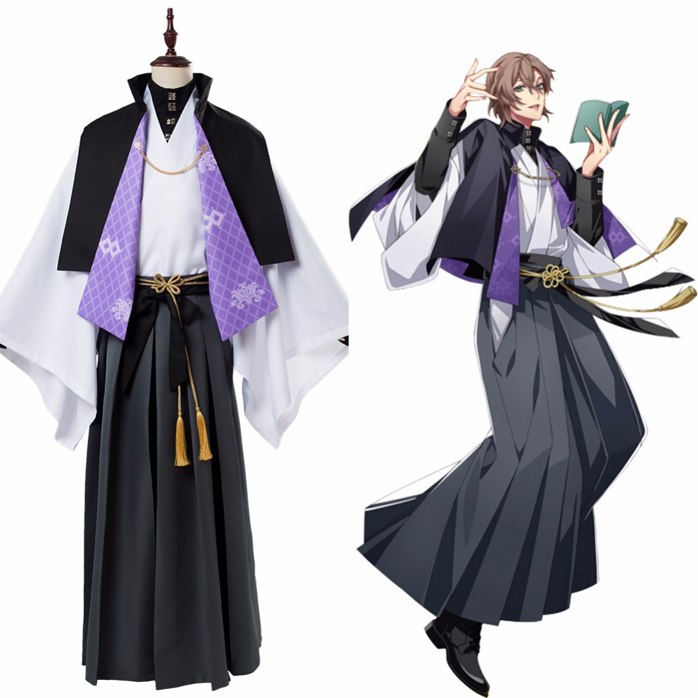 DRB COS Division Rap Battle Yumeno Gentaro Cosplay Costume Hypnosis Mic Fling Posse Phantom Halloween Carnival Cosplay Costumes