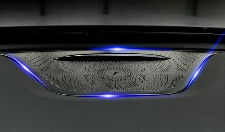Accessories For Mercedes Benz GLA CLA 2014 - 2016 Metal Dashboard Console Speaker Trim 1 Pcs engine oil cooler for mercedes a class b class cla gla 160 180 cdi