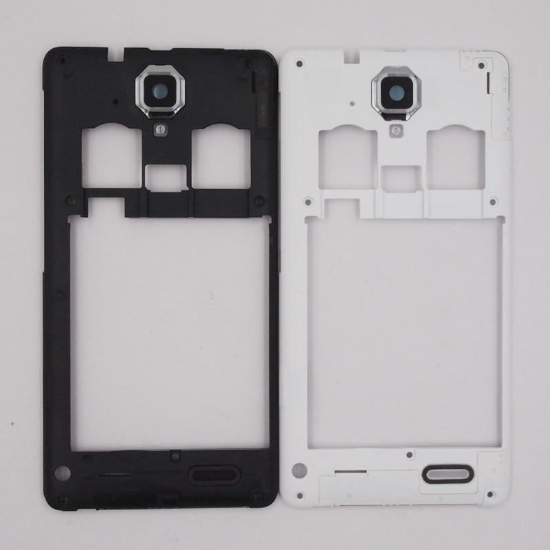 Online Shop Baansam Baru Dual Kartu Tengah Bingkai Housing Case Untuk Lenovo A536 A358T Dengan Antena Lensa Kamera