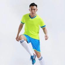 Soccer Jerseys font b Football b font Uniforms Suit Kids Training Soccer Sets Kit Men Survetement