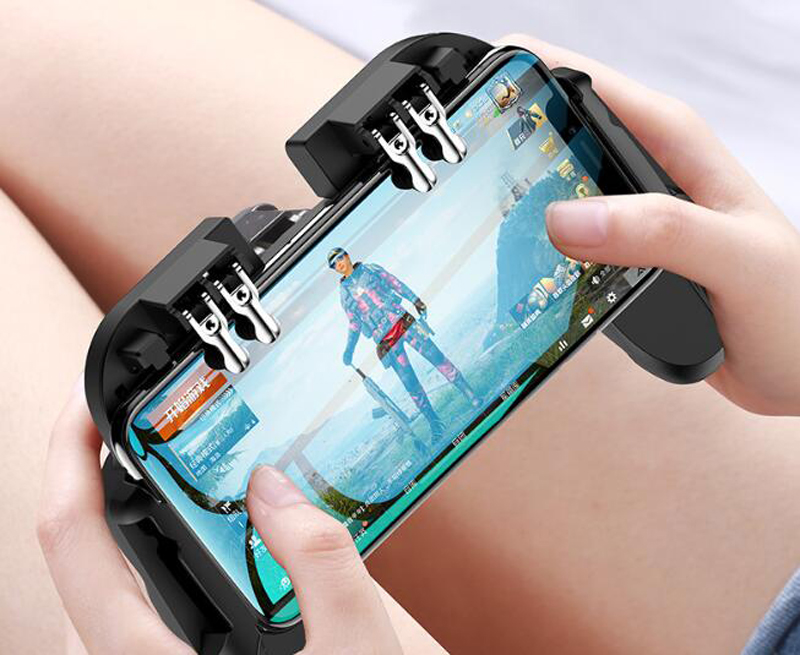 Mobile Controller for iPhone Android Phone Game Pad Mobile Gaming Gamepad Joystick Triggers Fan Handle in Gamepads from Consumer Electronics
