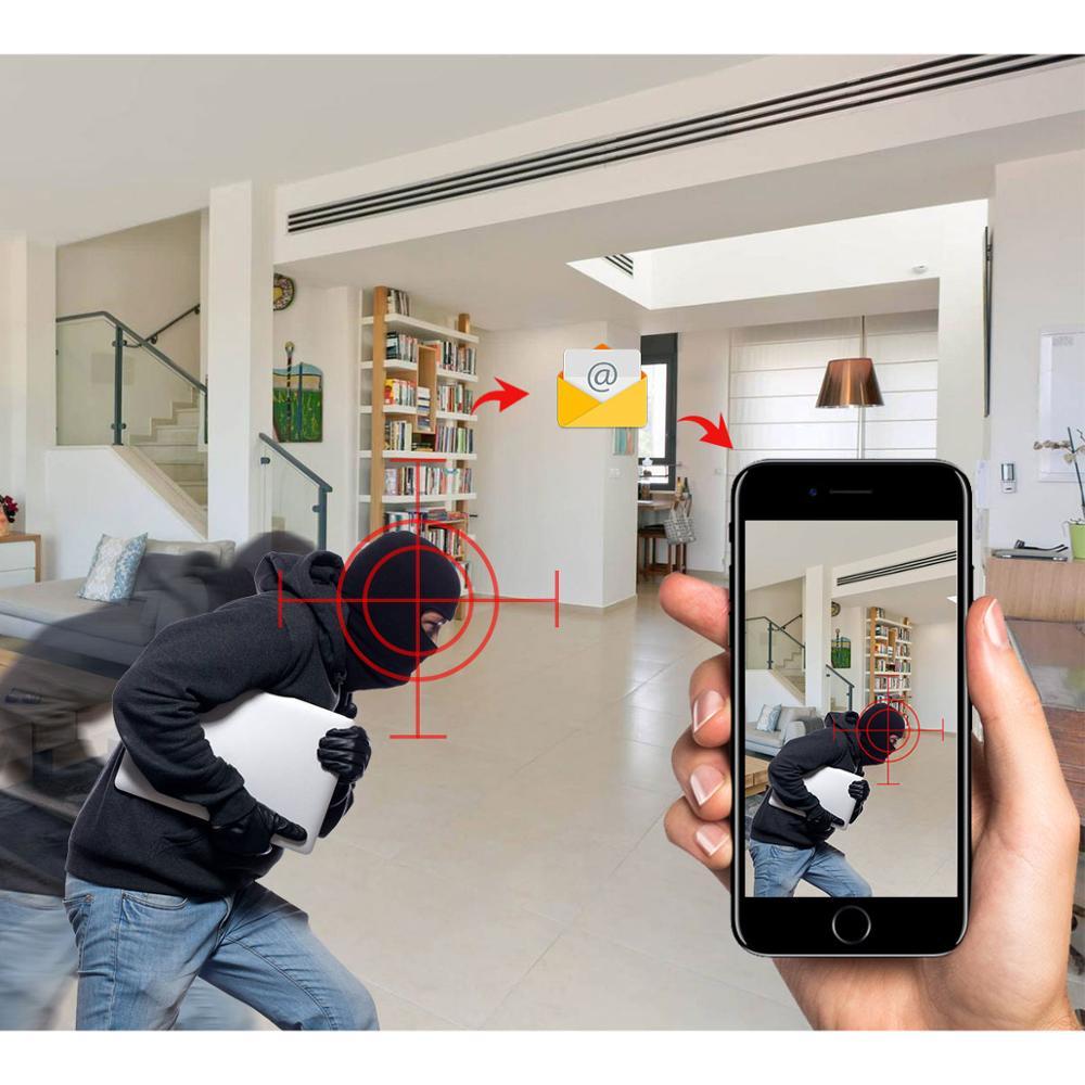 GADINAN 1080P 720P iCSee H 264 Waterproof WiFi Wireless Outdoor IP Security  Surveillance Bullet Camera with IR Night Vision